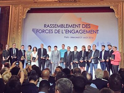 LAUREATS 2016-LA FRANCE S ENGAGE