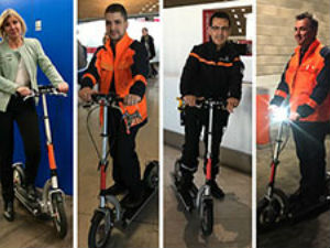 Groupe ADP: Electric scooters