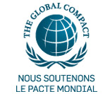 Logo, Global Compact, group, développement durable, Aéroports de Paris