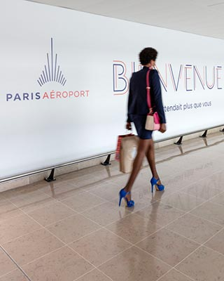 Coursives à Paris Aéroport