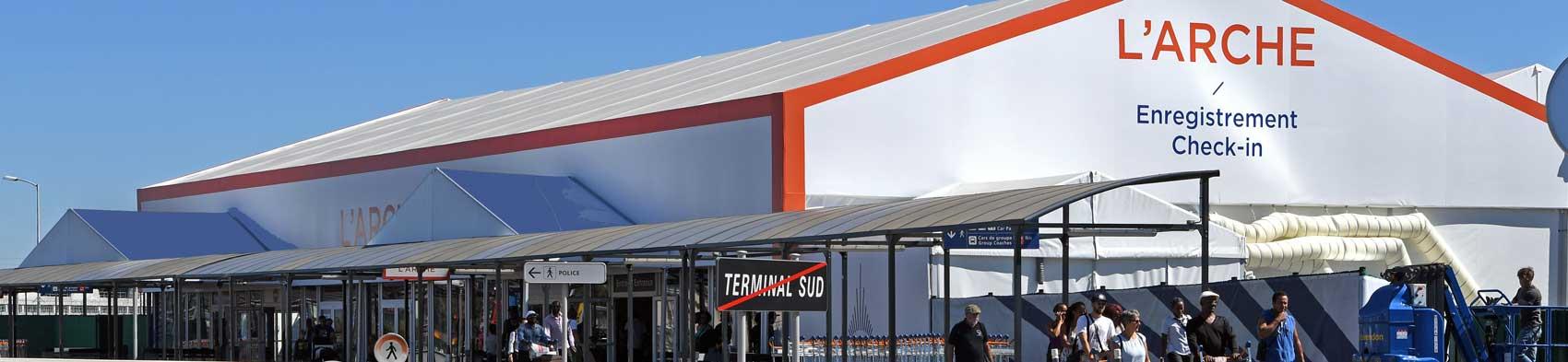 l 39 arche une nouvelle salle d 39 enregistrement paris orly terminal sud. Black Bedroom Furniture Sets. Home Design Ideas