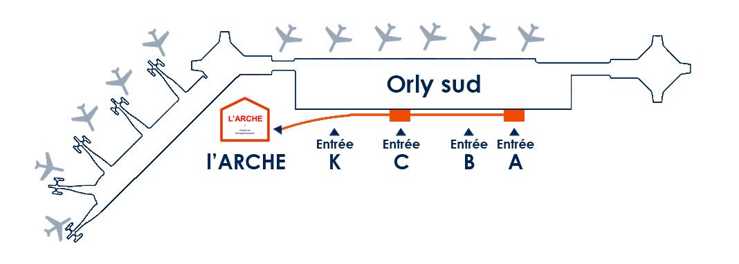 L 39 arche une nouvelle salle d 39 enregistrement paris orly terminal sud - Comptoir air france orly telephone ...