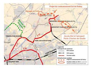 Amélioration de l'accès routier à l'aéroport Paris-Charles de Gaulle