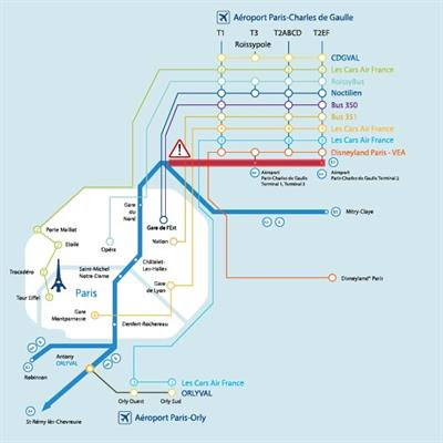 Rer B Disruption How To Access Paris Cdg On 22 And 23 September 2018