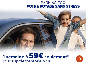 Offre Parking Eco : 1 semaine à 59€ !