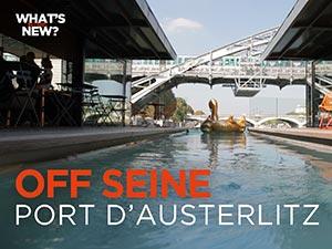 Off Seine, hôtel-bar sur la Seine