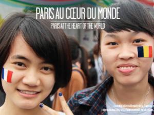 Photo de la Journée internationale de la francophonie en 2014, au Vietnam
