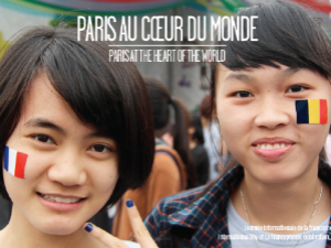 Photo de la Journée internationale de la francophonie en 2014, au Vietnam