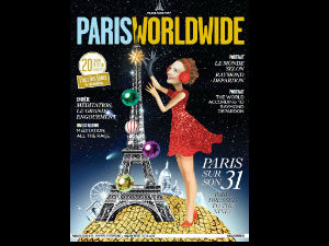 Couverture du magazine Paris Worldwide numéro 22