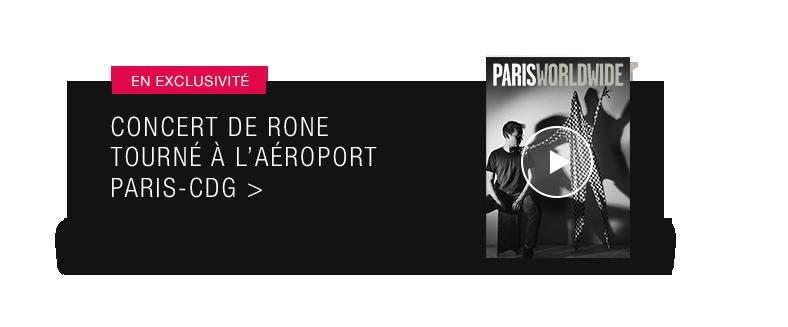 Rone - concert à Paris-CDG