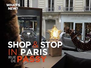 Virée shopping dans la rue de Passy