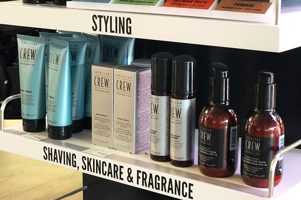 American Crew men's hair and body care