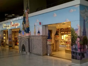 Boutique Disney à Paris-Charles de Gaulle