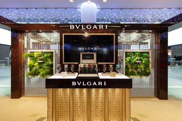 Bvlgari Pop-up Store Paris Aéroport