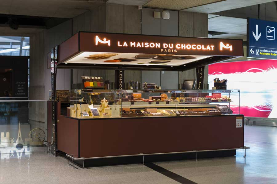 Tout chocolat for La maison du placard paris
