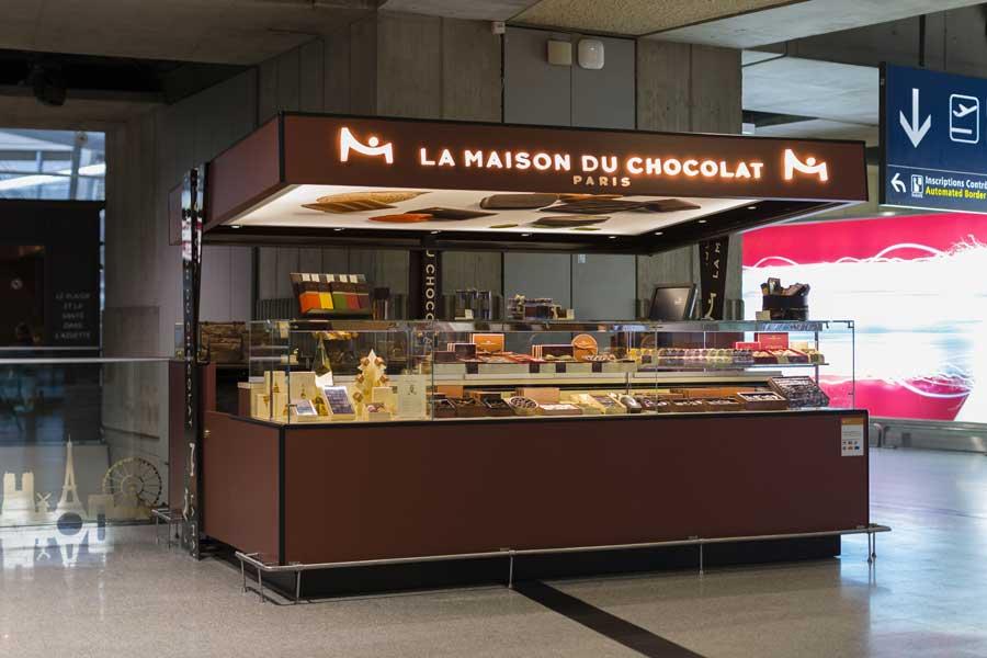 Tout chocolat for Macarons la maison du chocolat