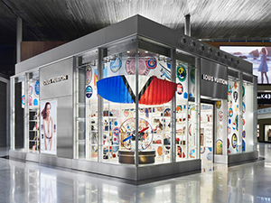 Boutique Louis Vuitton à Paris-Charles de Gaulle