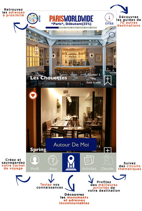 App  Paris Worldwide