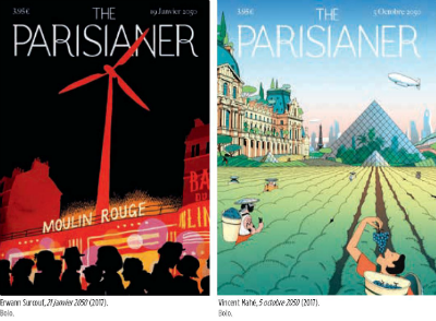 The Parisianer illustrations