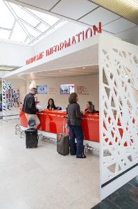 Tourist information desk