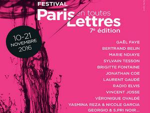 Affiche Festival Paris en toutes lettres