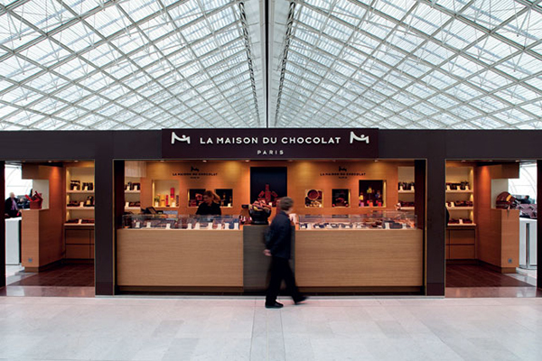 store la maison du chocolat paris cdg roissy paris. Black Bedroom Furniture Sets. Home Design Ideas