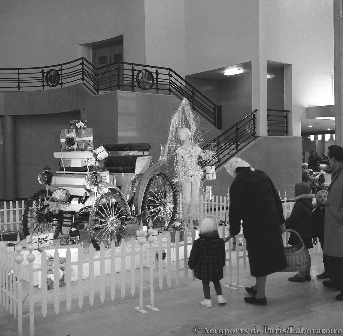 1962 débarquement des passagers