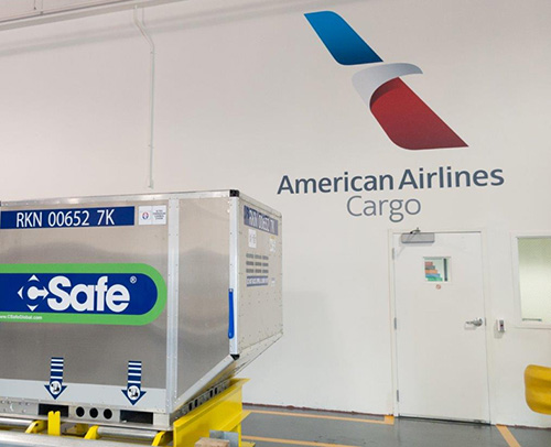 Zone Cargo American Airlines